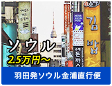 ソウル2.5万円~